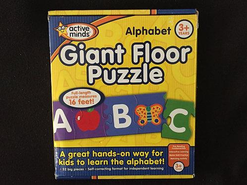 Alphabet Giant Floor Puzzle by active minds
