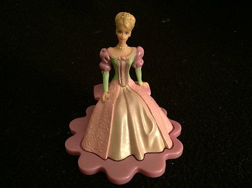"Barbie Princess and the Pea Cake figure 3.75"""