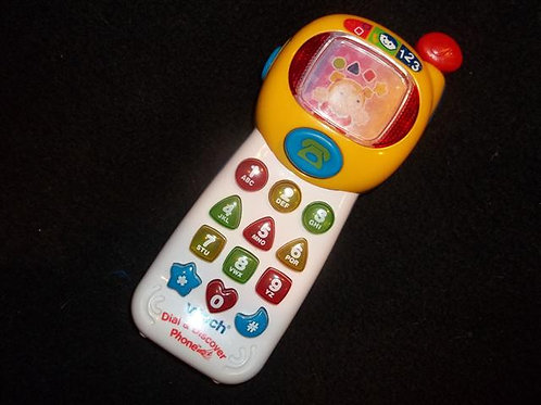Vtech Dial and Discover phone