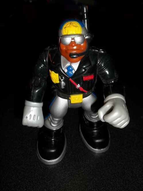 Rescue Hero Police Officer Action Figure