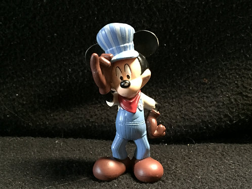 Mickey Mouse Clubhouse Figure - Mickey Mouse as locomotive engineer