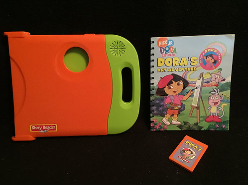 Story Reader System with Dora Book/tape