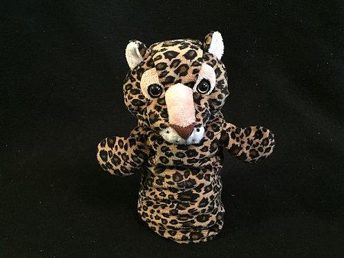 Restoration Hardware Plush Hand Puppet Leopard -