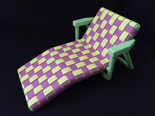 American Girl Bitty Baby Beach Lounge Chair