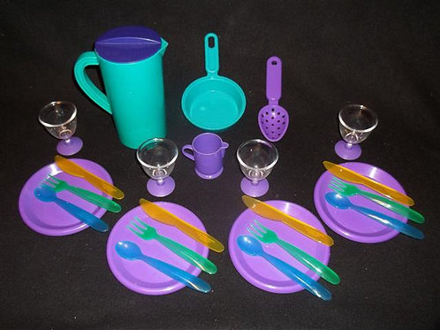 Play Dishes Lot #3