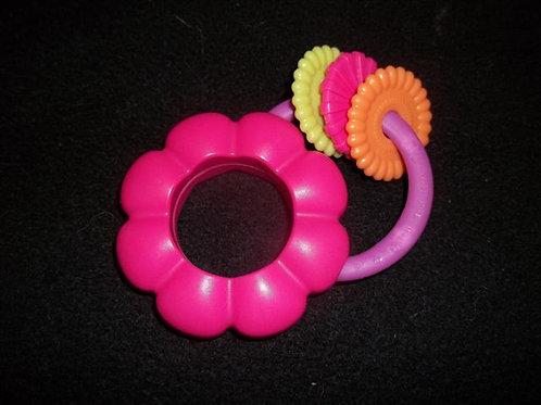 Kids II Pink Flower Petal Rattle