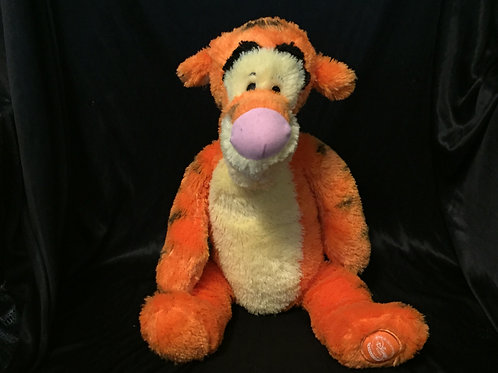 Authentic Disney Store - Winnie The Pooh - Tigger Soft Teddy / Plush Toy - 13""