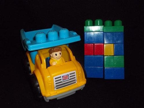 Mega Bloks Lil Dump Truck *10 Mega Maxi Blocks
