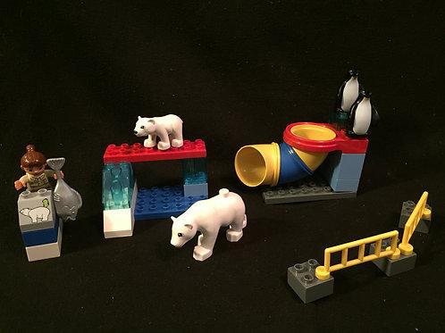 LEGO Duplo Polar Zoo 5633-Complete