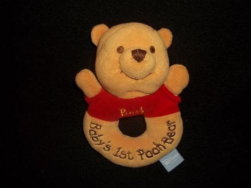 Disney Baby's First 1st Winnie the Pooh Bear Round