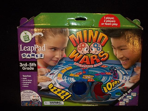 Leapfrog Mind Wars Interactive Game *NEW