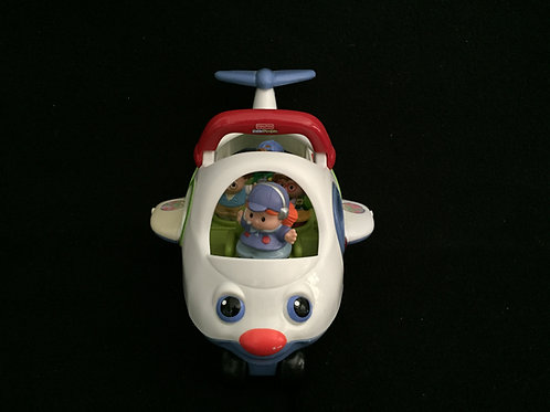 Little People Lil movers airplane round bottoms