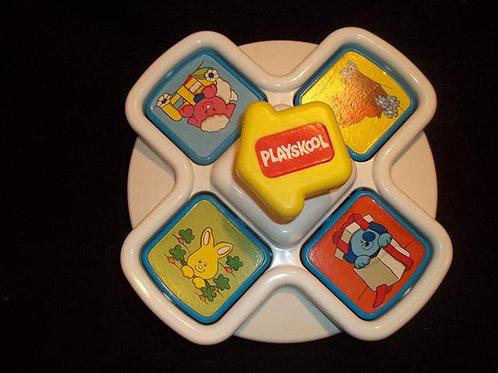 Playskool Pop 'n Squeak Baby/Infant Toy 1990