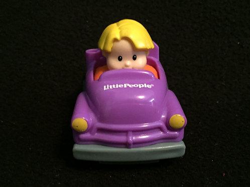 Little People Wheelies - Boy / Purple Car