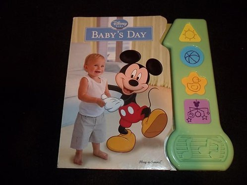 Disney Baby's Day Musical Book