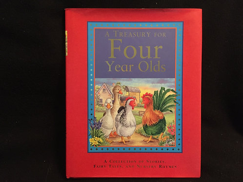 A Treasury for Four Year Olds-Hardcover