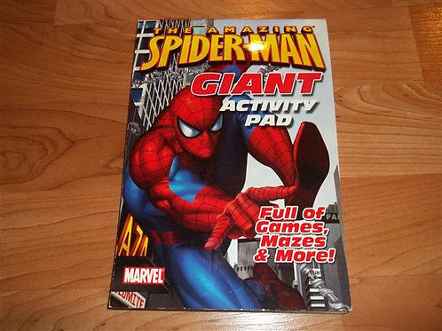 Spiderman Activity Pad *NEW