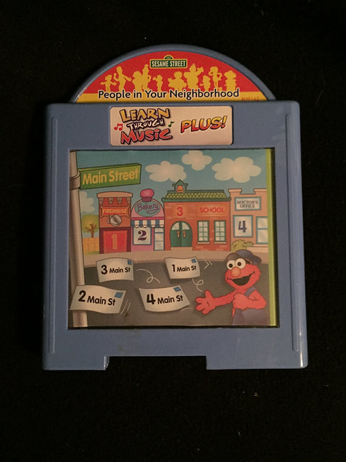 Learn Through Music Plus! Sesame Street