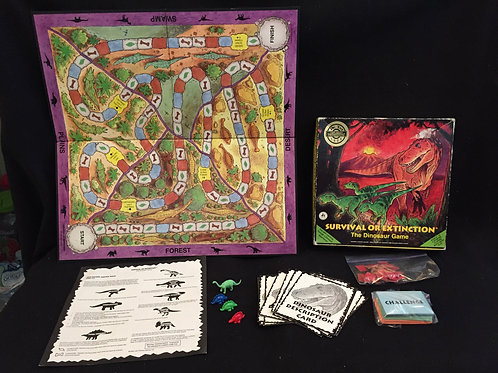 Board Game The Dinosaur Game
