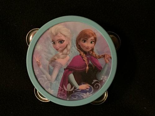 Disney Frozen Elsa and Anna Tambourine