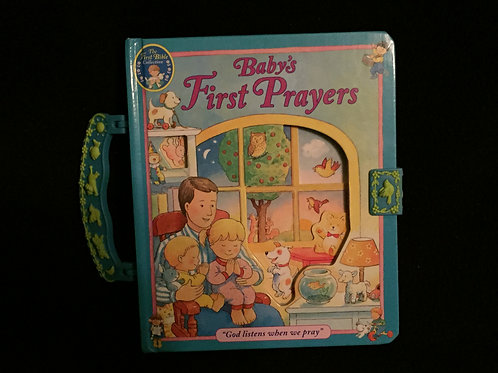 Baby's First Prayers: A Carry Along Book