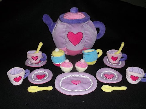 Fabric Tea Set