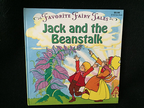 Favorite Fairy Tales Jack and the Beanstalk