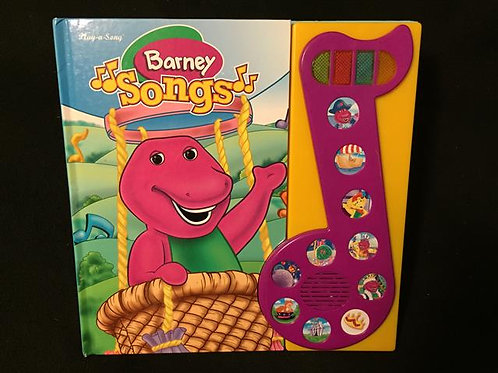 Barney Songs Large Interactive Book! Hardcover