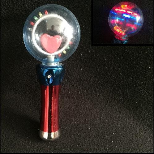 Heart wand light up