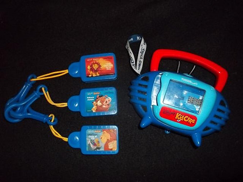 Disney Tunes Kid Clips Radio Music with 3 clips