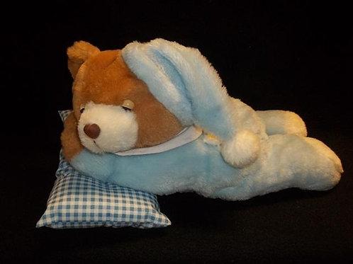 """GOFFA Blue Teddy Bear Plush 13"""""""