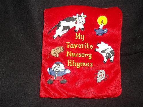My Favorite Nursery Rhymes Cloth book