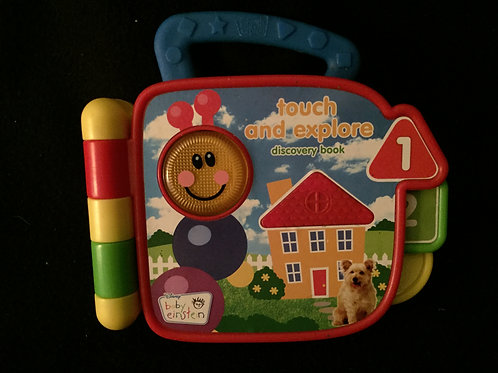 Baby Einstein the touch and explore discovery