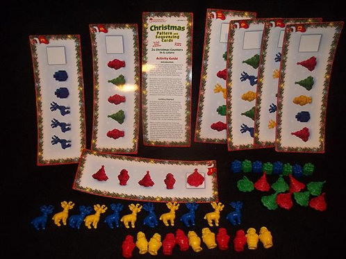 Christmas Pattern & Sequencing Cards Learning Res