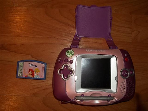 LeapFrog Leapster with Disney Princess Game