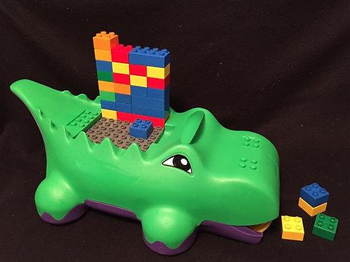 Lego Duplo Block-o-Dile alligator and with 30 Lego