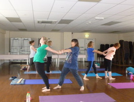 Hands, Feet, Seat & Soul Yoga Retrea