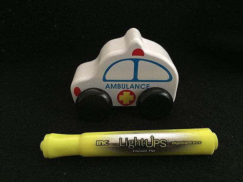 Wooden Mini Chunky Ambulance