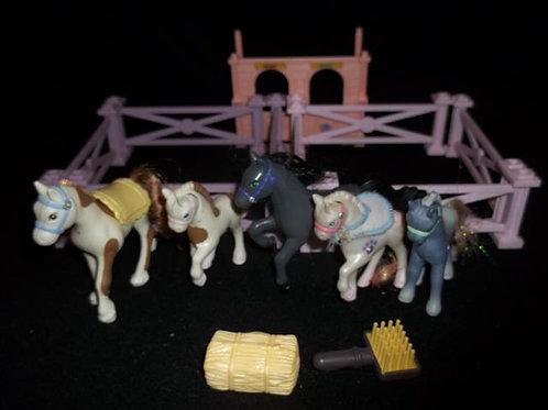 Littlest Pet Shop Sparkling ponies and Shy Shetlan