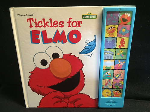 Tickles for Elmo-Play a sound book