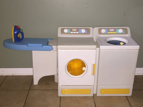 Little Tikes Child Size Laundry Center with iron