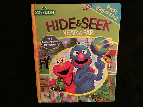 Sesame Street Hide & Seek: Near & Far (First Look)