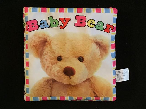 Baby Bear Cloth book -Soft-to-touch