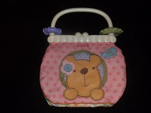 Fisher Price Little Buttons Soft Activity Purse