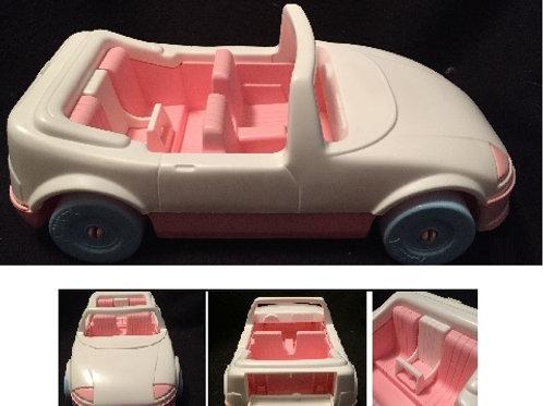 Playskool Pink & White Convertible 1992 #1593