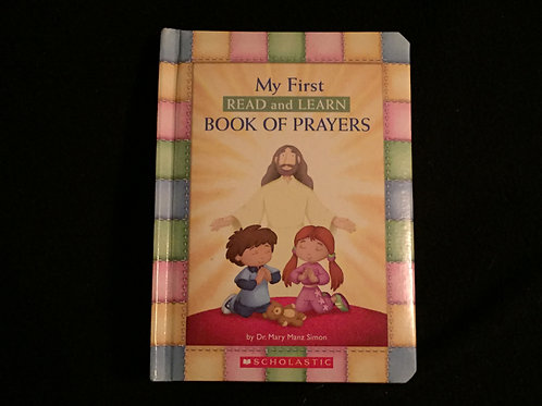 My First Read And Learn Book Of Prayers -Board boo
