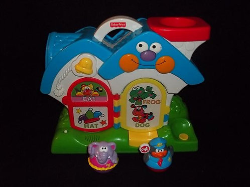Fisher Price Weeble Rhyming House