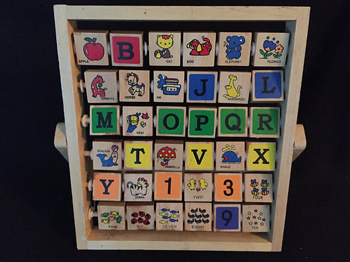Wooden Flip Abacus