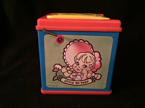 Mother Goose Jack In The Box by Mattel Vintage