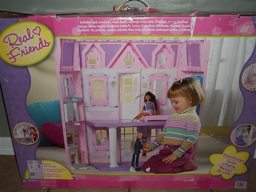 Real Friends Townhouse (Barbie Sized)